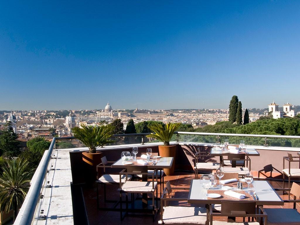 Sofitel Villa Borghese Restaurant Menu